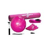 Kit Yoga Pilates, Balon, Tapete, Riata, Sportfitness 070339