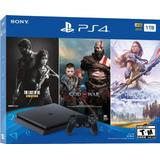 Consola Ps4 Playstation Slim 1tb 3 Juegos 3 Meses Plus Nueva