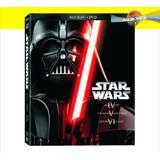 Pack Star Wars: Episodos Iv-v-vi (blu-ray+dvd)