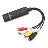 Capturadora Video Audio Usb Easycap S-video /rca Laptop Pc