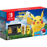 Consola Nintendo Switch Pokemon Let's Go Pikachu 32gb