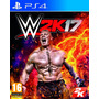 Juego Fisico Ps4 Wwe 2k17  Playstation 4