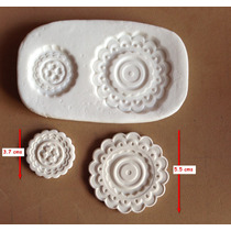 Molde Silicona Rosetones Tortas 101 Mq