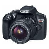 Camara Canon Eos Rebel T6 Kit 18-55mm Wifi 18mp Full Hd.