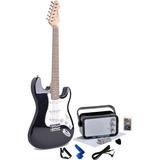 Kit Guitarra Smiger Amplificador Cable Capodastro Picks + /