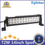 12  En 72w Epistar Led Barra De Luz Lámpara Jeep Barco Coche Jeep Patriot
