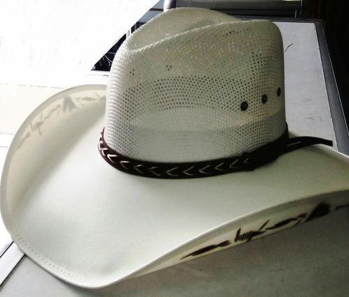 Sombrero Vaquero Estilo Roa Capo En Lona Tipo Montador c6201210ff6