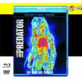 El Depredador (2018)  Blu-ray + Dvd + Digital Hd