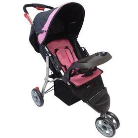 Coche Paseador Corinto Buggy Marca Happy Baby Rosa