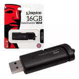 Memoria Kingston Usb Dt104 16 Gb Original Factura Legal
