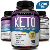 Keto Diet Pills - 1200 Mg Advanced Weight Loss Ketosis