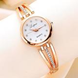 Reloj Para Mujer Acero Oro Rosa - Detal Y Por Mayor
