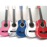 Guitarras Acusticas Para Niños Hasta 10 Años+ Forro+envio