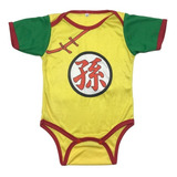 Bodie Body Mameluco Bebe Superheroes Gohan Dragon Ball