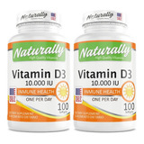 Promo 2 Vitamin D3 10.000 X 100 Ame - Unidad a $414