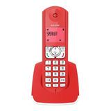 Teléfono Inalámbrico Alcatel F330s La Color Rojo