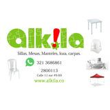 Alquiler De Sillas Plásticas Mesas Manteles Alkila Bogotá.