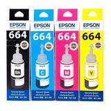 Tinta Epson T664 L210,l220,l380,l395,l495,l555,l565,l575