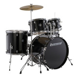 Bateria Ludwig Accent Drive Negro Gama Profesional