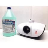 Maquina Desinfección 900w + 4 Litros Desinfx + Envío Gratis