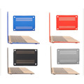 Carcasa Mate Para Macbook Retina 12 Logo Varios Colores