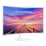 Monitor Curvo Samsung De 32  Full Hd C32f391fwl Blanco