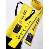 Cinturon Bordado De Artes Marciales Karate Taekwondo Judo