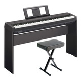 Piano Yamaha P45 En Combo Con Mueble + Pedal +usb. Citimusic