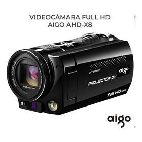Video Camara Hd Con Proyector - Aigo Ahd-x8