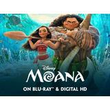 Moana Hd 1080p Español Latino Digital Pelicula