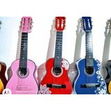 Guitarras Niños Hasta 6 Años+metodo Introdccion+forro+envio