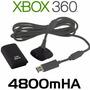 Kit Carga Y Juega Xbox 360, Hasta 35 Horas Garantia