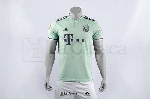 Camiseta Original Bayern Munich Visita 18-19 James Rodriguez ab8561fcdb487