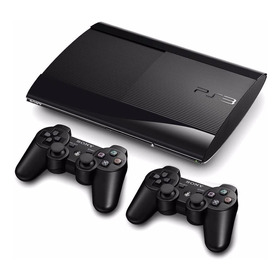 Play Station3 Super Slim 250 Gb + 2 Controles + Juegos Obseq