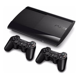 Play Station3 Super Slim 250 Gb 2 Controles + 18 Juegos Ps3