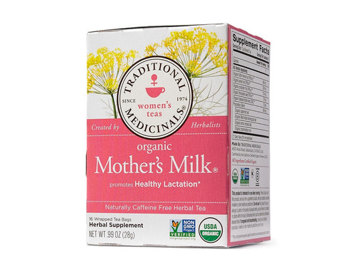 Mother's Milk Te De Lactancia Organico Leche Materna