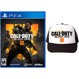 Call Of Duty Black Ops 4 Ps4 +obsequio: Gorra. Esp Latino