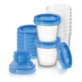 Avent Vasos Almacenamiento Leche Materna Reutilizables X10