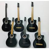 Guitarras Acusticas Adultos+forro+metodo De Prendizaje+envio