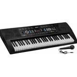 Teclado Organeta Piano Electrónico 61 Teclas Micrófono Usb