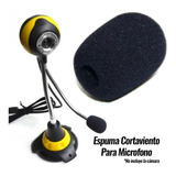Filtro Espuma Pop  Micrófono Solapa Anti Ruido Cortaviento