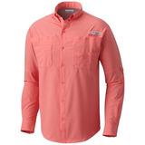 Camisa Columbia Tamiami Ii Pfg Omniwick Omnishade Upf+40