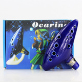 Ocarina Ceramica 12 Huecos Legends Of Zelda  + Obs  Ajd