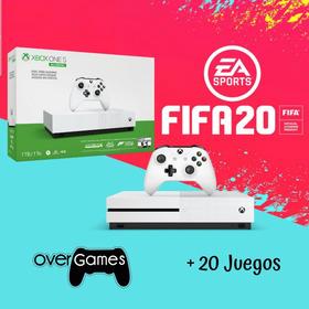 Xbox One S Nuevo + 20 Juegos + Fifa + Gta V