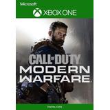 Call Of Duty M.w Xbox One Modo Local