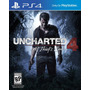 Original Sony Nuevo Uncharted 4 A Thief's End Ps4 Play 4