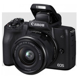 Canon Eos M50 Con Lente 15-45mm Mirrorless - Sin Espejo.