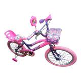 Bicicleta Princesas Para Niña Rin 20 Para 7 A 12 Años Nueva