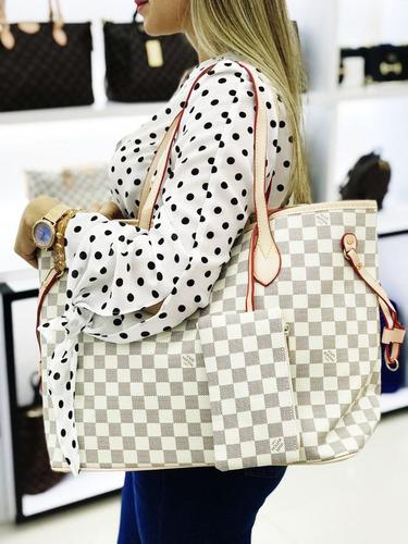 Bolso Mujer Louis Vuitton Cartera Cuero Calidad 2 En 1 2ad5791d63f