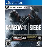 Tom Clancy's Rainbow Six Siege Ps4. Físico  Entrega Hoy.